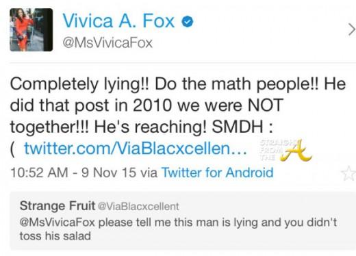 Vivica Fox Tweet 1