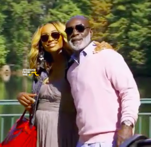 Cynthia Bailey Peter Thomas 2015