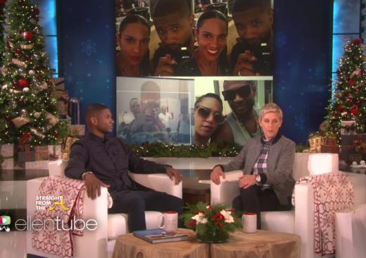 Usher on Ellen 2