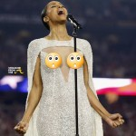 Nip Slip? Ciara Blasted for 'Inappropriate' Attire During College National Anthem Performance… [PHOTOS + VIDEO]