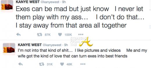 Kanye Amber Response 2016