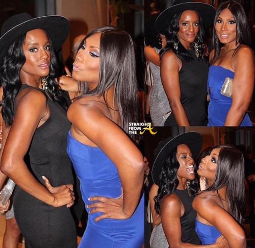Towanda Braxton and Skye Marshall