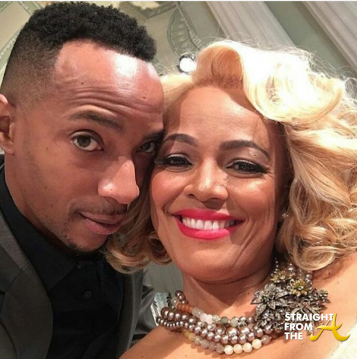 Kim Fields Christopher Morgan 2016 RHOAReunion