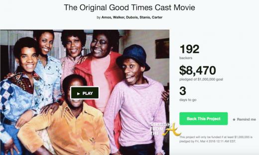 Good Times Kickstarter 2016
