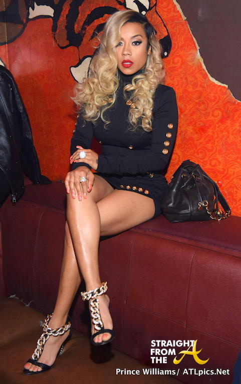 Party Pics Keyshia Cole Hosts Atlanta S Aroma Lounge