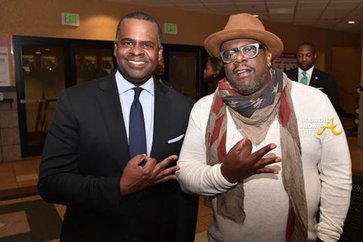 Mayor Kasim Reed and Cedric The Entertainer - Kappa Alpha Psi Fraternity Inc.