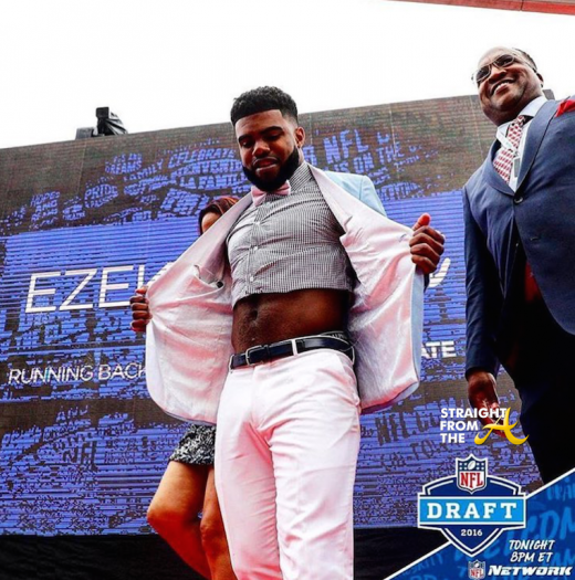 Ezekiel Elliott NFL Draft 1