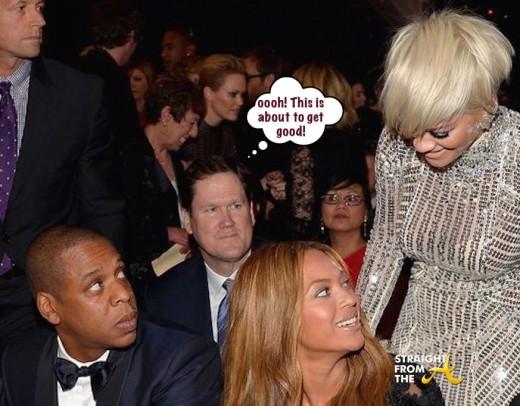 Jay Z Beyonce Rita Ora