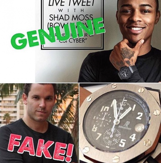 Timothy Sykes Bow Wow Clap Back 1