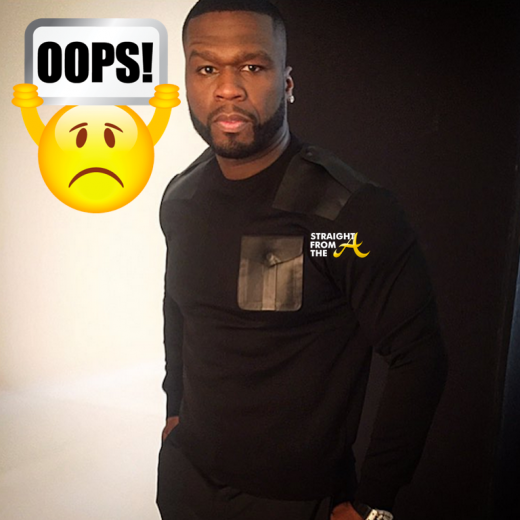 50 Cent Instagram Fail