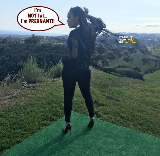 Angela Simmons Pregnant 5