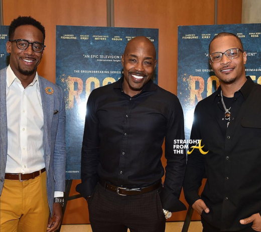 Jeff Johnson Will Packer T.I.