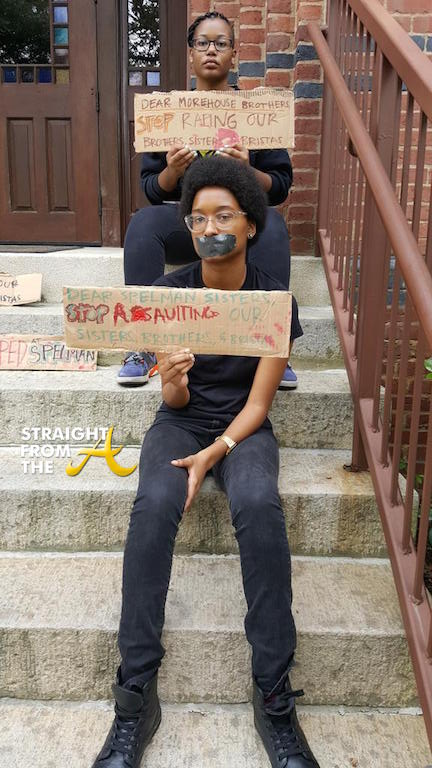 Raped At Morehouse Protest 3