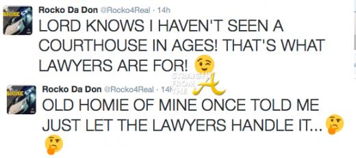 Rocko Da Don Tweets 1