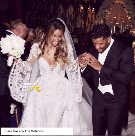Ciara Married 2016
