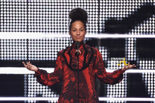 alicia keys no makeup vma 2016 5