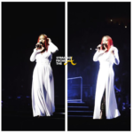 Faith Evans Goes Viral After Onstage Wardrobe Malfunction… (VIDEO)