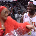 Gucci Mane Proposes to Keyshia Ka'oir During Atlanta Hawks Game… [FULL VIDEO]