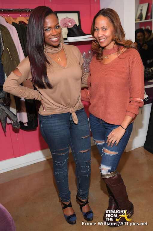 Kandi and business partner Peaches Chin