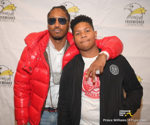 Futures Son Future Zahir Wilburn: Good Deeds! Future And Son Give Back With 4th Annual