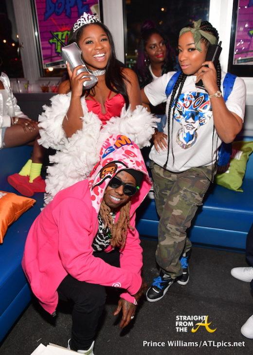 Reginae Carter Toya Wright Lil Wayne