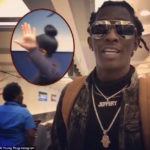 Online Backlash As Young Thug Posts Video Humiliating Black Female Airline Employee… (VIDEO)