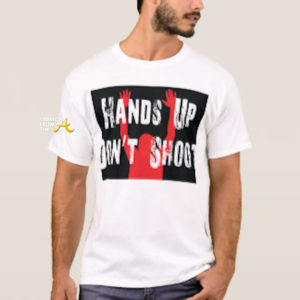 hands up don't shirt shirt - buy at amazon