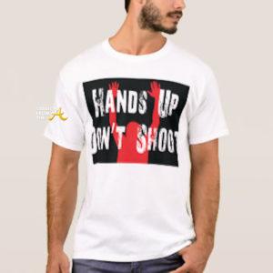 hands up don't shirt shirt - buy at amazon
