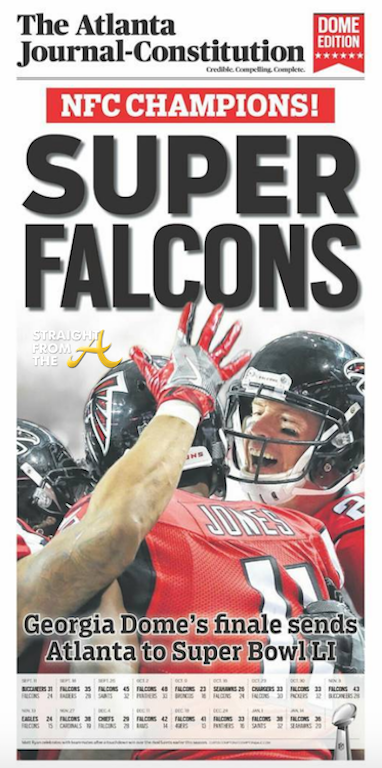 AJC Falcons Headline 2017