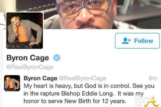 Byron Cage Eddie Long Tweet 1