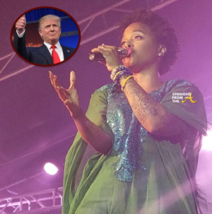 Chrisette Michelle Donald Trump