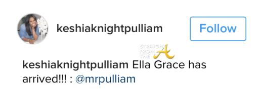 Keshia Knight Pulliam Gives Birth 2
