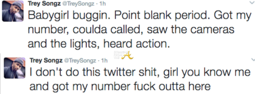 Trey Songz Twitter