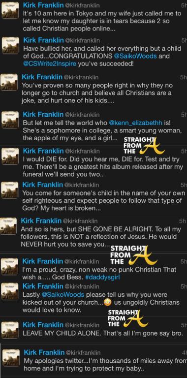 Kirk Franklin Twitter