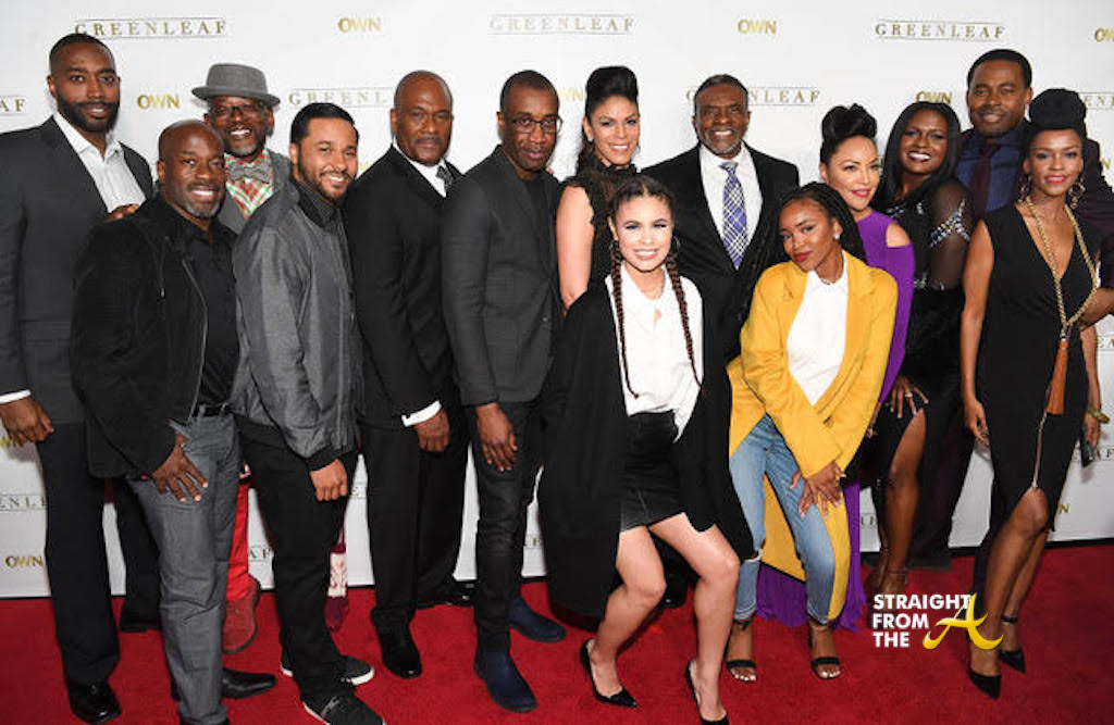 Greenleaf Cast Straightfromtheacom Atlanta
