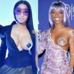 Nicki Minaj Responds to Criticism She Copied Lil Kim's Breast Baring Look… [PHOTOS]