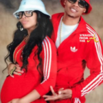New Edition's Ronnie DeVoe & Wife Shamari Share 80's Style Baby Bump Pics…