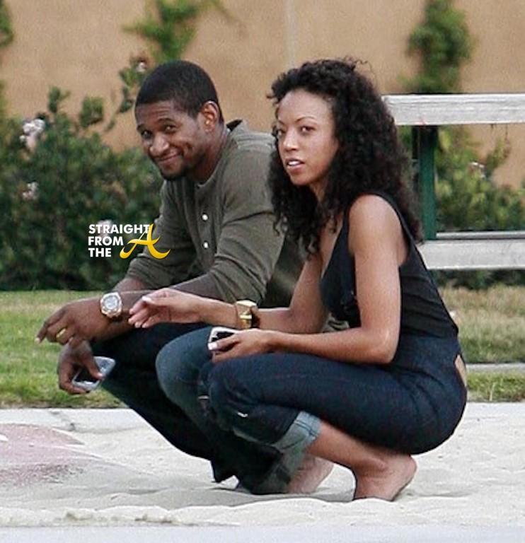 Usher Maya Fox Davis Straight From The A Sfta Atlanta Entertainment Industry Gossip Amp News