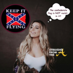 'Racist'? or Nah? #RHOA Kim Zolciak's Daughter Brielle Biermann Once Posted Confederate Flag on Instagram… (PHOTO)