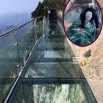 OPEN POST: Tourists React As Glass Sky Bridge 'Shatters' Under Their Feet… (VIDEO)