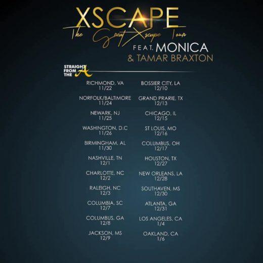 The Great Xscape Tour Dates