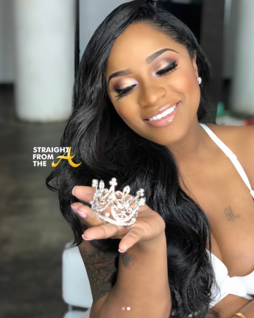 baby bump watch toya wright reveals unborn daughter�s name�