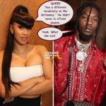 Girl Whet?! Cardi B. Defends Offset in Homophobic Lyric Controversy… (FULL VIDEO)