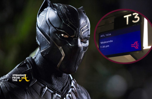 Hilarious!! Atlanta Airport Offering Non-Stop Flights to Wakanda…