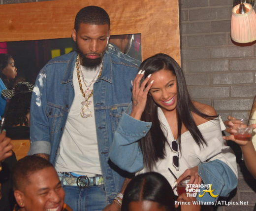 Boo D Up Lhhatl S Erica Mena Amp Boyfriend Party With Jim