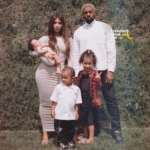 Meet The Wests: Kim, Kanye, North, Saint & Chicago Pose For 1st Family Photo…