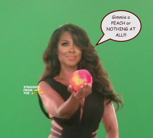 Kenya Moore Wants You To Know It's 'All Or Nothing' When It Comes To Her #RHOA Peach…