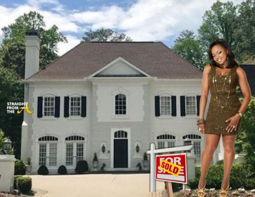 "SOLD!!! Ex-Atlanta ""Housewife"" Phaedra Parks Finally Sells Atlanta Mansion…"