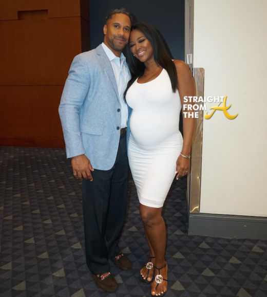 Awkward! Kenya Moore & Marc Daly Publicly Disagree Over Baby Shower Details… (VIDEO)