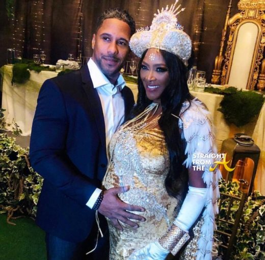 Baby Bump Watch: Ex 'Housewife' Kenya Moore Hosts Lavish Enchanted Baby Shower… (PHOTOS + VIDEO)